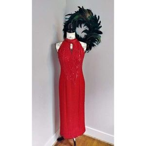 Deadstock Vintage Precious Formals Evening Gown